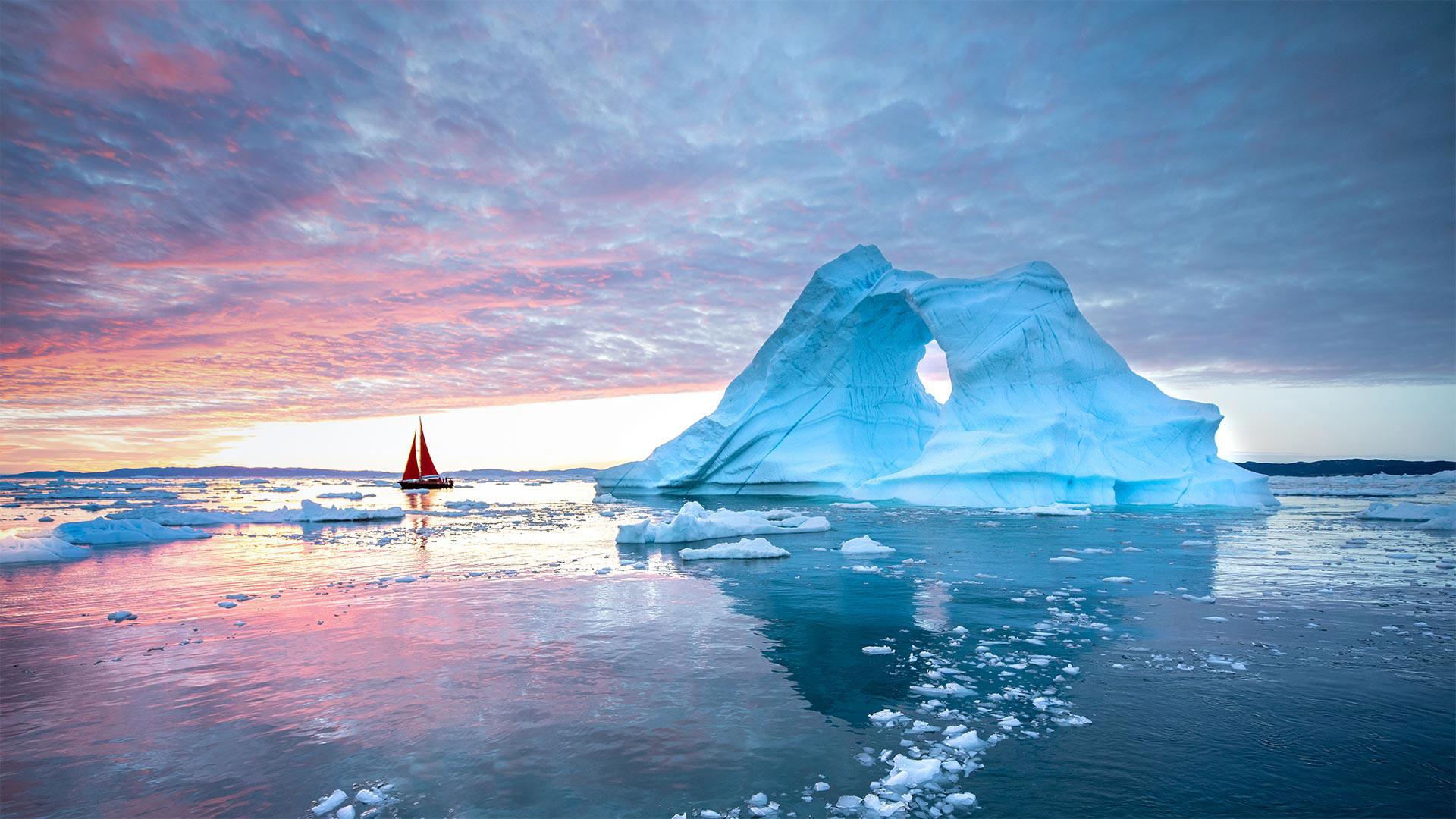 迪斯科湾,格陵兰岛伊卢利萨特