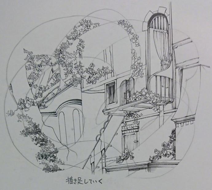 漫画家佐藤夕子教大家如何画背景,我?????