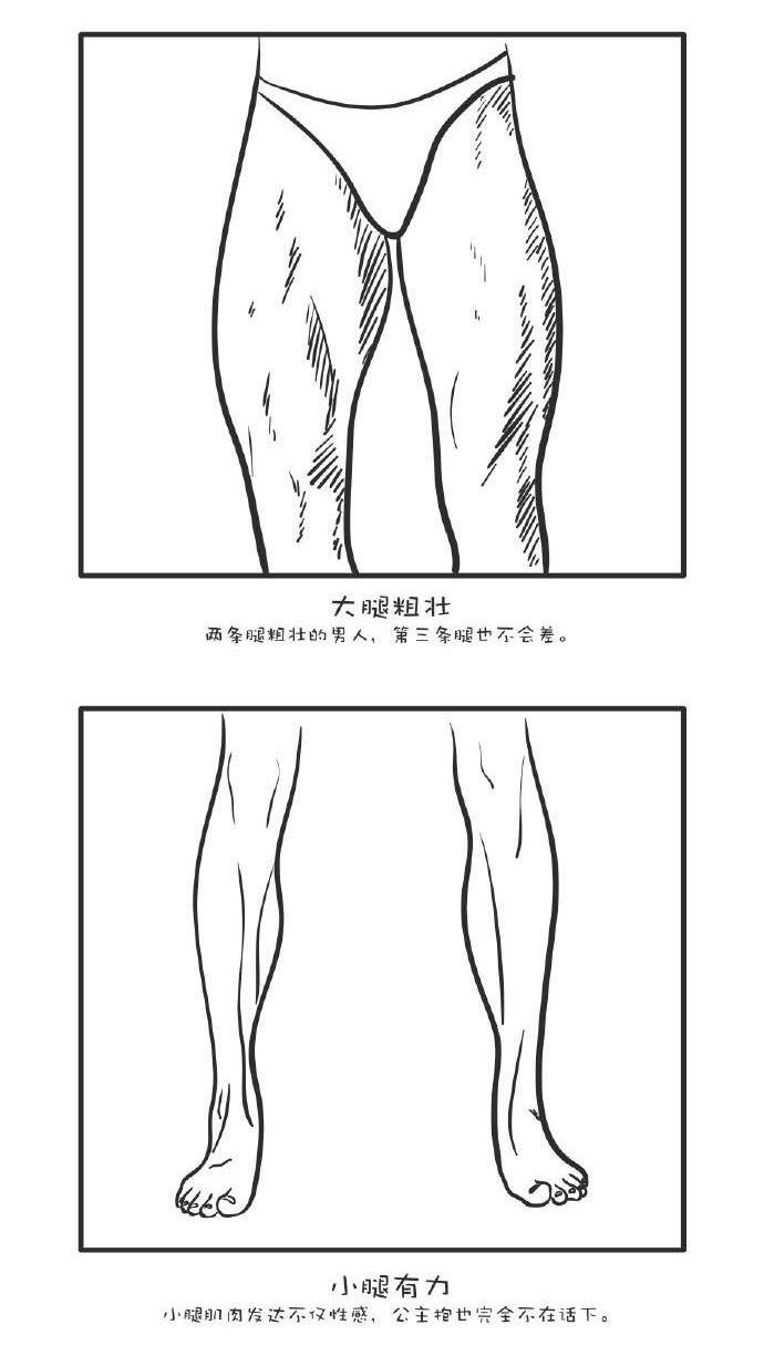 如何从一双腿判断男人到底行不行?