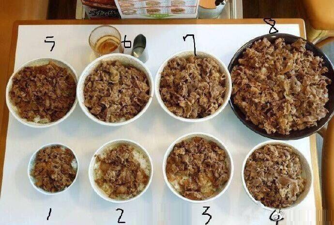 你最大的饭量是多少?