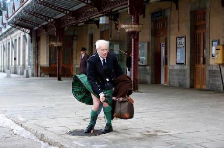 苏格兰版玛丽莲梦露,我已深深沉醉。
